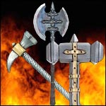 Latex Pole Weapons Warlords LARP Collection