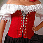 Women Plus Size Bodices and Skirts
