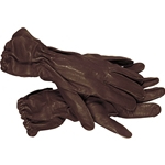 German Leather Paratroopers Gloves WWII Repro