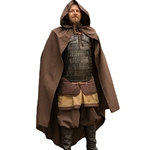 Medieval LARP Cloak - Brown Cotton