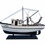 Forrest Gump - Jenny Shrimp Boat 16in Wooden Model Ship