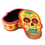 Day of the Dead Skull Box 10811