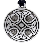 Celtic Cross Pendant Necklace 121.1450