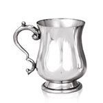 Georgian Pewter Tankard Half Pint HP009