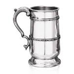 Heavy Gauge Highland One Pint Pewter Tankard