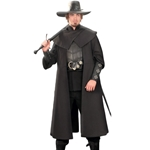 Witch Hunter Coat - Black