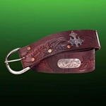 Outlaw Wide Leather Belt 26-201400