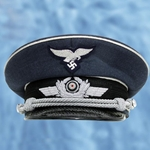 German WWII Luftwaffe Officer's Cap Reproduction 802207