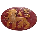Game of Thrones Lannister Shield Pin