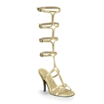 Athena's Gold Sandals
