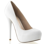 Gorgeous Leather Round Toe Pumps
