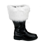 Wide Shaft Santa Boots