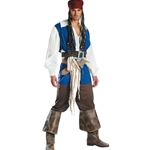Pirates of the Caribbean - Captain Jack Sparrow Adult Costume 38-31483