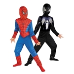 The Amazing Spider-Man Reversible Red to Black Child Costume 38-32928
