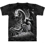 Black Dragon Adult 2X-Large T-Shirt 43-1012521