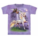 Unicorn Castle Adult T-Shirt 43-1031460