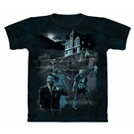 Zombies and Ghosts Adult 2X-Large T-Shirt