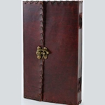 Large 1842 Poetry Leather Blank Book 45-BBBCPOE