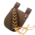 Medieval Sword Frog, Leather Sword Holder Large Brown Right