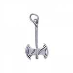 Battle Axe Silver Charm 52-TC074