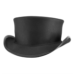 Marlow Top Hat Unbanded - Black