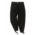 German WWII Tanker Pants Black Repro