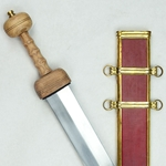 Pompeii Gladius Sword - Wood Grip