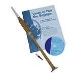 Satinwood Practice Chanter with Book and CD