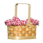 Gingham Basket 100-145335