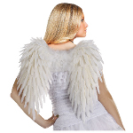 Adult (White) Feather Angel Wings  100-149046