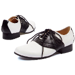 Saddle (Black/White) Adult Shoes 100-149359
