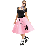 Adult Poodle Skirt 100-217322