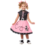 50s Poodle Cutie Toddler / Child Costume  100-217118