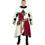 Medieval Arming Jacket - Surcoat with Hood Set - Custom