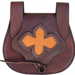 Medieval Leather Pouch GH0061