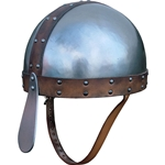 Leather Trimmed Spangenhelm GH0135