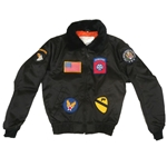 Kids B-15 Nylon Bomber Jacket