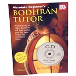 Absolute Beginners Bodhran Tutor Book-CD