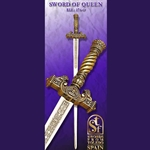 Toledo Queen's Ceremonial Sword, Gold TS-174-O