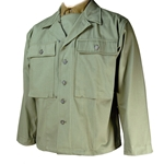 US GI HBT Fatigue Jacket 2nd Pattern WWII