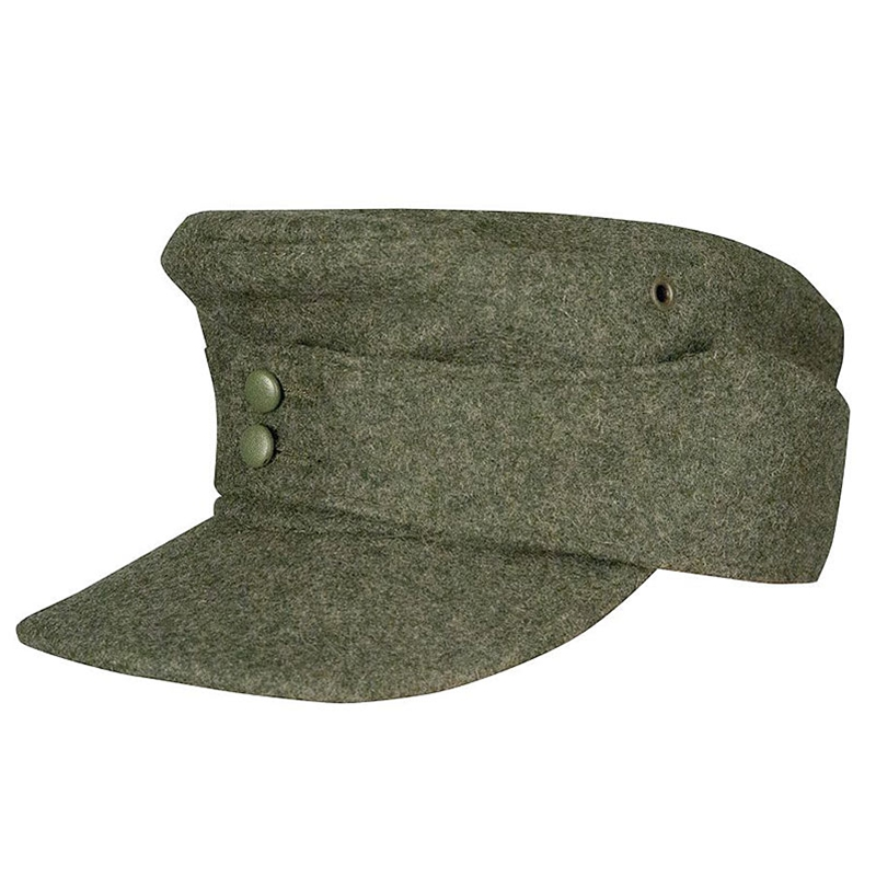 4d7eef3697f2ab Medieval and Renaissance Store - German M43 Waffen SS Wool Field Cap EM  Enlisted - WWII Repro