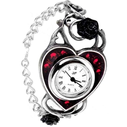 Bed Of Blood Roses Watch Pewter Alchemy 17-AW22