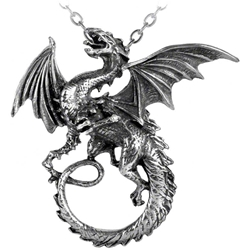 Whitby Wyrm Necklace