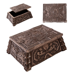 Aztec Bronze Box