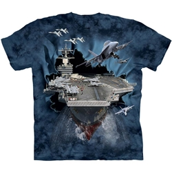 Aircraft Carrier Adult T-Shirt Plus Size 43-1082630