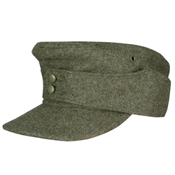 75c7d8503a8359 Medieval and Renaissance Store - German M43 Waffen SS Wool Field Cap ...
