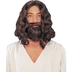 Biblical (Brown) Wig And Beard  100-135867
