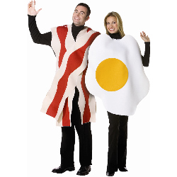Bacon and Eggs  Adult 100-140354