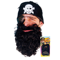Black Pirate Beard 100-102874