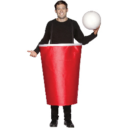 Beer Pong Cup Adult Costume 100-188581
